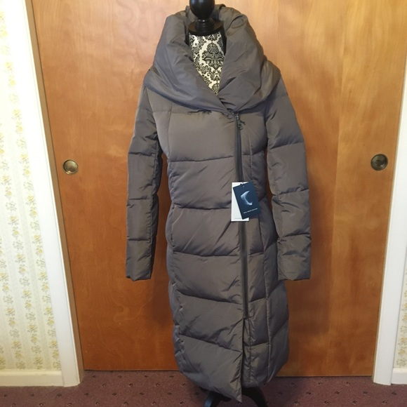Cole Haan Signature NWT Long Down Puffer Wrap Coat